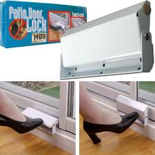 Locks For Patio Sliding Doors Patio Door Foot Lock Security Sliding Patio Door Lock Foot