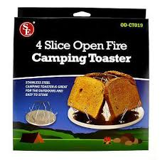 Camp Toaster 4 Slice Open Fire Camping Toaster Camp Stove Toaster U2013 Cedar Creek