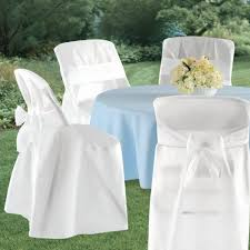Folding Chair Cover Buy Folding Chair Covers White Party Accessory In Cheap Price On
