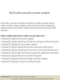 Clinical Research Associate Resume Sample by Top8auditassociateresumesamples 150409002522 Conversion Gate01 Thumbnail 4 Jpg Cb U003d1428557171