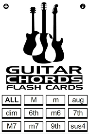 guitar chords flash cards android apps on play