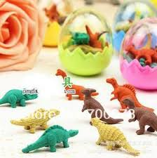 dinosaur easter eggs 12pcs eggs 96pcs eraser rubber stationery easter eggs