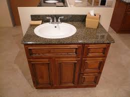 vanity countertop with offset sink basin i like the idea of