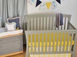 Grey And Yellow Crib Bedding 115 Best Yellow In The Nursery Images On Pinterest Crib Bedding