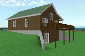 Walk Out Ranch House Plans Garage Basement House Plans Country Cabin House Plan D68 941