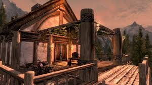 lakeview manor arbor and planter at skyrim nexus mods and