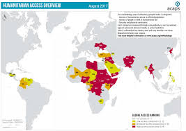 Sudan On World Map by Irin Aid Workers At Risk On World Humanitarian Day