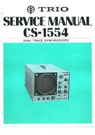 kenwood trio cs1554 oscilloscope service manual download