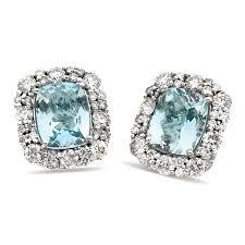 aquamarine earrings aquamarine earrings with diamonds diamond earrings jewelry