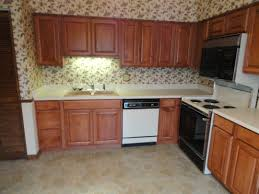Stained Hickory Cabinets Main Affordable Cabinet Refacing Nu Look Kitchens