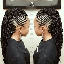 images of kids hair braiding in a mohalk crochet mohawk braids pinterest mohawks crochet and hair style