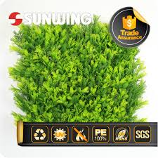 Fake Bushes Artificial Foliage Fence Artificial Foliage Fence Suppliers And