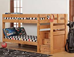 Bunk Bed Plans With Stairs Wooden Bunk Beds With Stairs In Home Designs