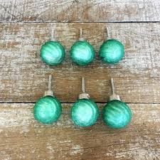 Green Glass Cabinet Knobs Shop Unique Dresser Knobs And Pulls On Wanelo