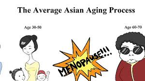 Asian Lady Meme - the average asian aging process imgur