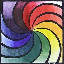 a new spin on the color wheel assignment arteascuola a rainbow