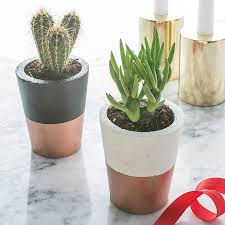 copper dipped cement pot cement varnishes and porcelain