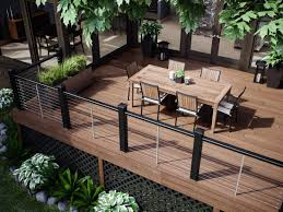 Decking Banister Decks Com Deck Railing Ideas