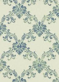 etienne ornamental trellis wallpaper in green design by bd wall