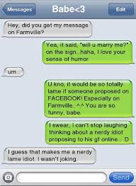 Meme Marriage Proposal - proposal fails mutually