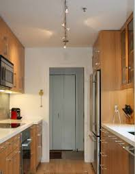 kitchen luxury galley kitchen track lighting 1400945949882