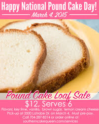 pound cake loaf sale for national pound cake day scq