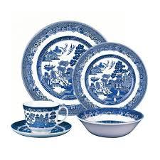 dinnerware cobalt blue glass dinnerware sets blue stoneware