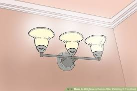 4 ways to brighten a room after painting it too dark wikihow