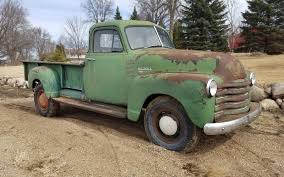 Classic Chevy Dump Trucks - made in canada 1953 chevrolet 1434 pickup