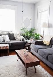 Gray Couch Living Room Light Grey Sofa Decorating Ideas Wood