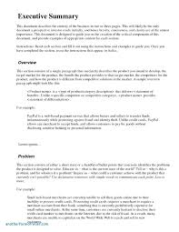 grant report template template executive summary template word