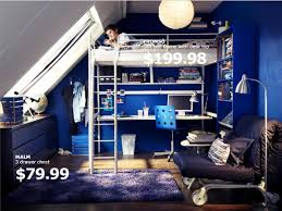 bedroom remarkable ikea dorm bedding with blue paint walls and