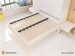 Folding Wall Bed Schrankbett 160cm Vertikal Weiss Smartbett 1 224 95 U20ac