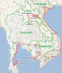 Map Southeast Asia by Southeast Asia Travel Route Jimmy Eat World