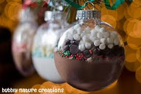cocoa mix ornaments