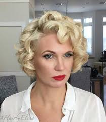 short curley hairstyles for middle aged women 50 trendiest short blonde hairstyles and haircuts