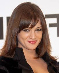 haircut with bangs and layers for round face long haircuts with