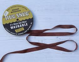 seam binding ribbon pansy purple hug snug seam binding 100 yard roll 1 2 wide
