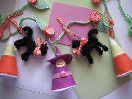 Halloween Pipe Cleaner Crafts Creative Breathing Scaredy Cat