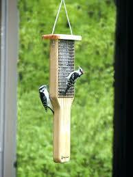 bird feeder hangers pole deck rail mount bird feeder holder for