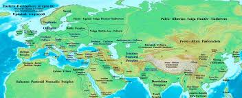 Asia Maps by The Nomadic Horse Peoples Of Central Asia