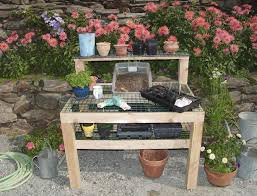 Inexpensive Potting Bench by Created Potting Bench U2014 Modern Home Interiors How To Build A