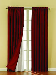 Eclipse Fresno Blackout Curtains by Amazon Com Eclipse Thermaliner Blackout Panel Pair White Home
