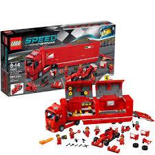 lego speed champions ferrari lego speed champions 75913 f14 t u0026 scuderia ferrari truck de