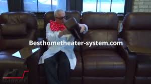in home theater seating home theater seating loveseat 1 best home theater systems home