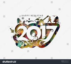 happy new year 2017 new year stock vector 505457614