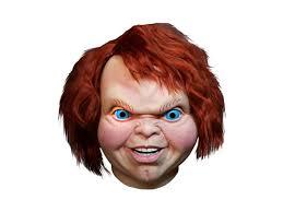 chucky mask child s play 2 evil chucky mask