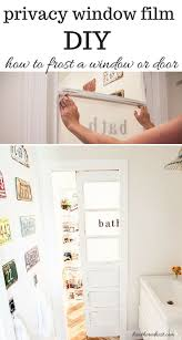best 25 diy frosted glass window ideas on pinterest bathroom