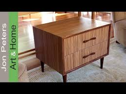 how to refinish veneer table how to use wood veneer refinish furniture with zebrawood veneer