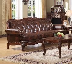 Leather Sofas In Birmingham Birmingham Tri Tone Leather Sofa Acme Furniture Furniture